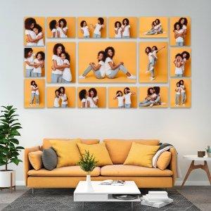 17 Piece Collage