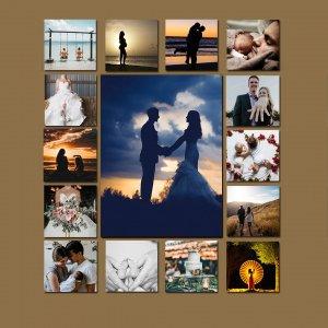 15 Piece Collage